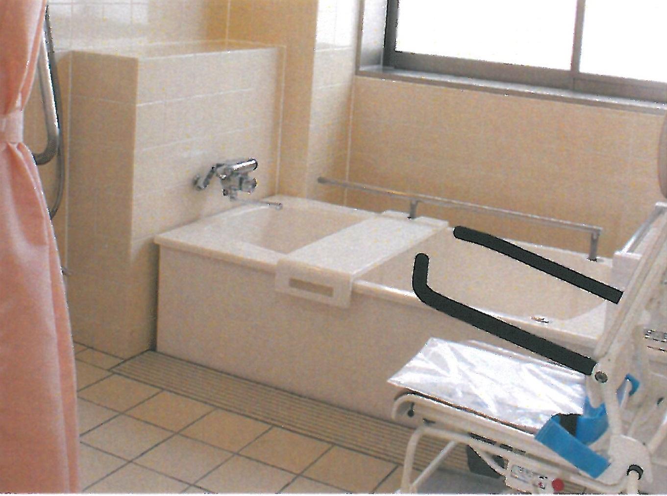 南館 個人浴室